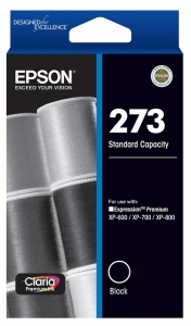 Epson Claria Premium 273 Black Ink Cartridge
