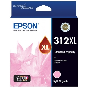 Epson Claria Photo HD 312XL Light Magenta High Yield Ink Cartridge