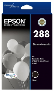 Epson DuraBrite Ultra 288 Black Ink Cartridge