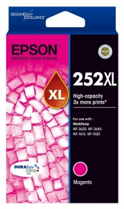 Epson DURABrite Ultra 252 Ink Cartridge - Magenta