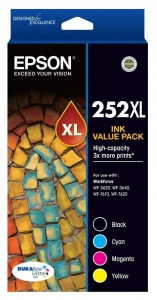 Epson DuraBrite Ultra 252XL Value Pack