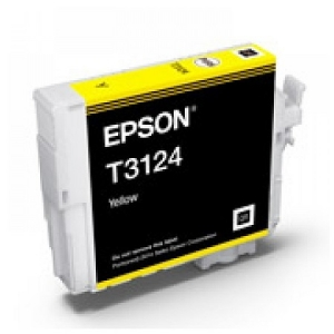 Epson UltraChrome Hi-Gloss2 T312 Yellow Ink Cartridge