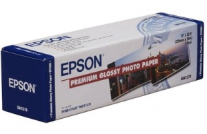 Epson Premium Glossy Photo A4 Roll Paper - 210mm x 10m