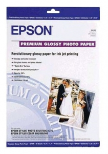 Epson S041289 Premium Glossy A3+ 252gsm Photo Paper - 20 Sheets