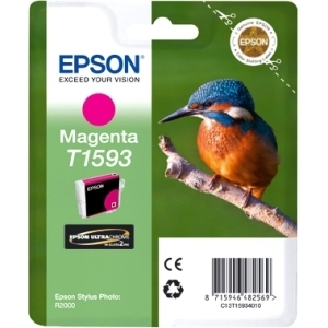 Epson T1593 Magenta Ink Cartridge for Stylus Photo R2000