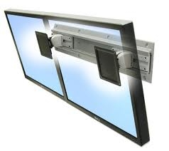 Ergotron Neo-Flex Wall Mount for 24 Inch Flat Panel Display