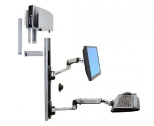 Ergotron LX Wall Mount System - Medium CPU Holder
