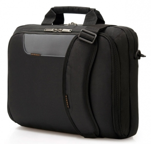 Everki Advance Briefcase 13 Inch-14.1 Inch - Trolley Handle Shoulder Pad