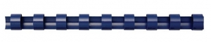Fellowes 6mm Plastic Binding Combs Blue - 100 Pack
