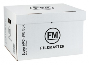 File Master Super Strength Archive Box 432x370x286 - 3 Pack