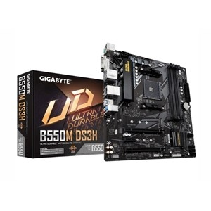 Gigabyte DS3H Ultra Durable AMD AM4 B550 mATX Gaming Motherboard