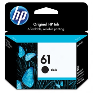 HP 61 Black Ink Cartridge