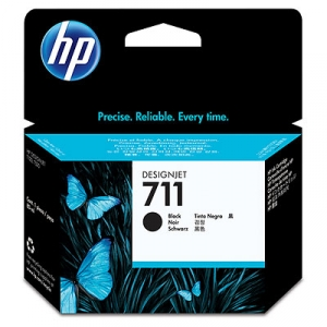 HP 711 Black High Yield 80ml Ink Cartridge