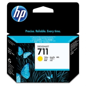 HP 711 Yellow 29ml Ink Cartridge