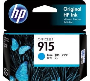 HP 915 Cyan Ink Cartridge