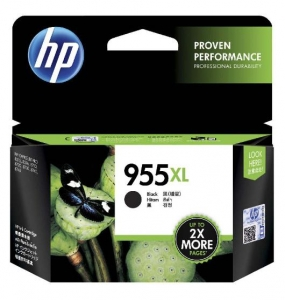 HP 955XL Black High Yield Ink Cartridge
