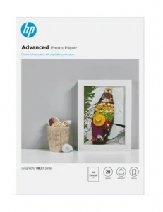 HP 9RR51A Advanced Glossy A4 250gsm Photo Paper - 20 Sheets