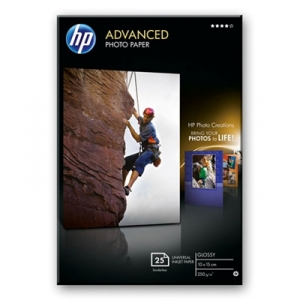 HP Q8691A Glossy Advanced 4x6 250gsm Photo Paper - 25 Sheets