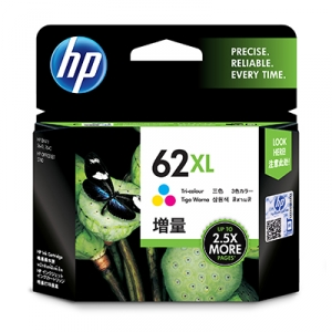 HP 62XL Tri-Colour High Yield Ink Cartridge