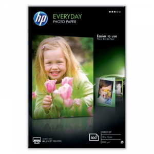 HP CR757A Glossy Everyday 4x6 200gsm Photo Paper - 100 Sheets