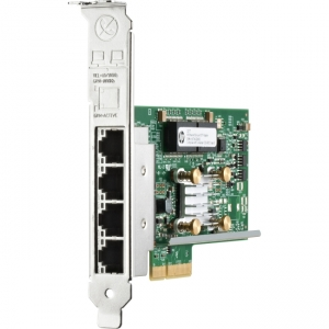 HPE Gigabit Ethernet PCI Express x4 Twisted Pair 4 x RJ-45 Card
