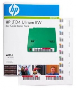 HPE LTO 4 Ultrium RW Bar Code Label 100 Pack