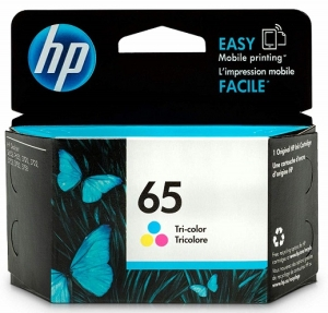 HP 65 Tri-Colour Ink Cartridge