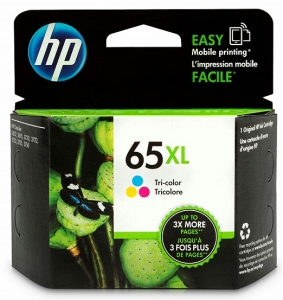 HP 65XL Tri-Colour High Yield Ink Cartridge