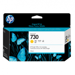 HP 730 DesignJet Yellow 130ml Ink Tank Cartridge