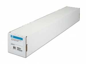 HP Q6582A Semi-Gloss Universal 190gsm Instant-Dry Photo Paper Roll - 1270mm x 30.5m