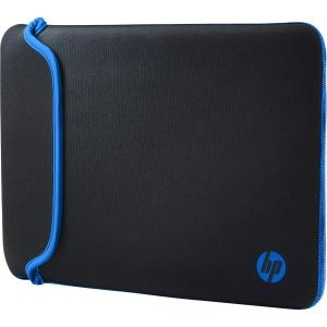 HP Reversible Neoprene 14 Inch Laptop Sleeve - Black/Blue