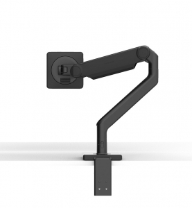 HumanScale M2.1 Single Monitor Arm Clamp - Black