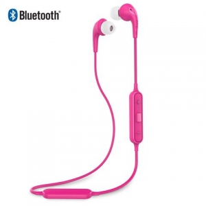 iLuv Bubble Gum AIR Stereo Bluetooth Wireless Earphones - Pink