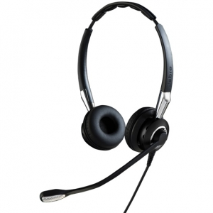 Jabra Biz 2400 II Duo USB MS Contact Centre Headset - Optimised for Microsoft Skype for Business