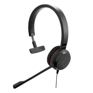 Jabra Evolve 30 II UC MS Wired Mono USB Headset - Optimised for Microsoft Skype for Business