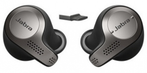 Jabra Evolve 65t MS In Ear Wireless Earbuds - Optimised for Microsoft Business Applications