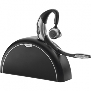 Jabra Motion UC+ MS Bluetooth Wireless Mono Headset with Travel & Charge Kit - Optimised for Microsoft Skype for Business