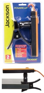 JACKSON Powerclip 3 way Power Board on Rotating support, IP rated. ORANGE
