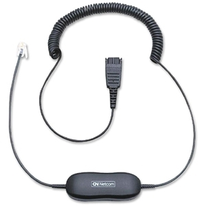 JABRA GN1200 Smart Cord Headset Cable - 2.01 m - 1 x Quick Disconnect - 1 x RJ-10