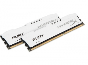 Kingston HyperX Fury 8GB (2x4GB) 1333MHz DDR3 Non-ECC CL9 Memory- White