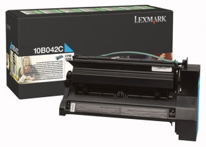 Lexmark 10B042C Cyan Toner Cartridge