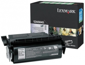 Lexmark 12A5845 Black Toner Cartridge