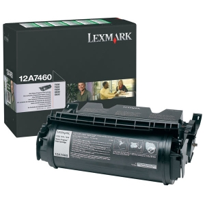 Lexmark 12A7460 Black Toner Cartridge