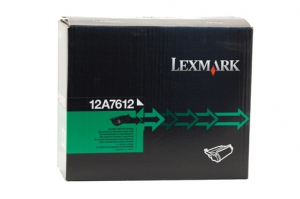 Lexmark 12A7612 Black Reconditioned Toner Cartridge