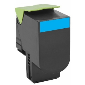 Lexmark 70C8XC Extra High Yield Cyan Toner Cartridge