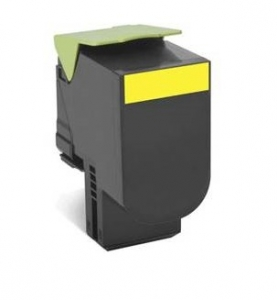 Lexmark 808SYE Toner Cartridge - Yellow