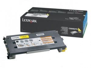 Lexmark C500S2YG Yellow Toner Cartridge