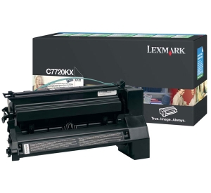 Lexmark C7720KX Black Toner Cartridge