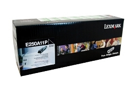Lexmark E250A11P Black Toner Cartridge
