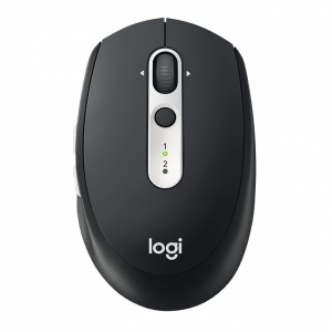 Logitech M585 Multi-Device Wireless Bluetooth Mouse - Black